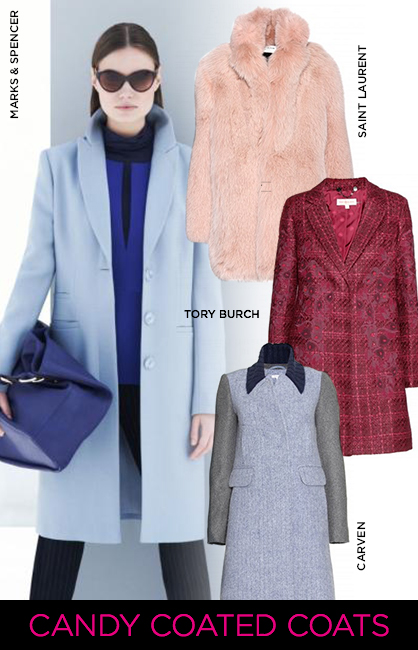 Winter Weather Candy Coated Coats