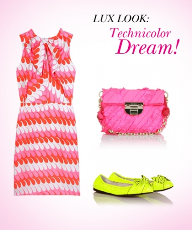 LUX Look: Technicolor Dream!