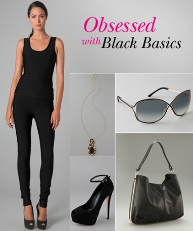 LUX Look: Obsessed with Black Basics