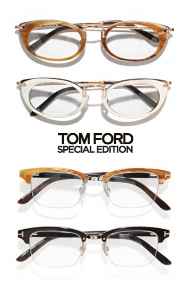 Tom Ford launches a special edition of optical eyewear
