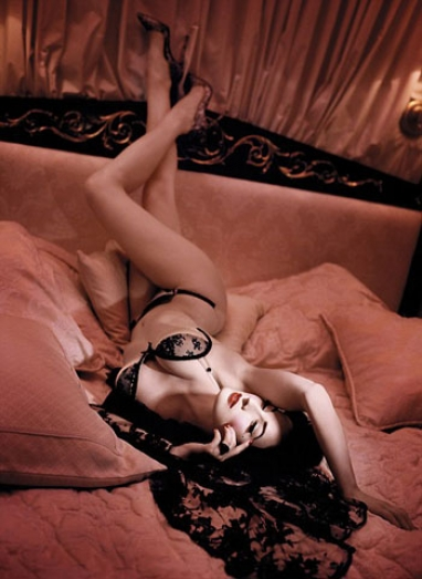 Dita Von Teese: Vintage-Inspired Lingerie Collection