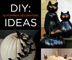 10 Halloween Pumpkin Decorating Ideas