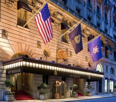St. Regis Hotel New York introduces the Bentley Suite