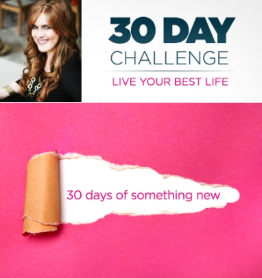 30 Day Challenge: Try Something New Every Day with Jessica