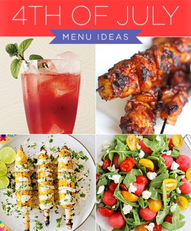 4th of July Menu Ideas