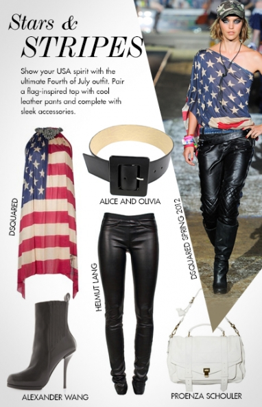 Chic outfits inspired by the Fourth of July