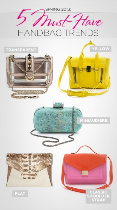 Spring 2013: 5 Must-Have Handbag Trends