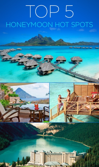 LUX Travel: Top 5 Honeymoon Hot Spots