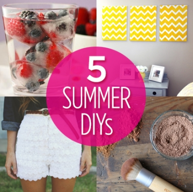 Try It: 5 Summer DIYs