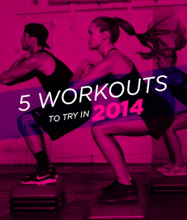 Wellness Wednesday: 5 Workouts to Try in 2014