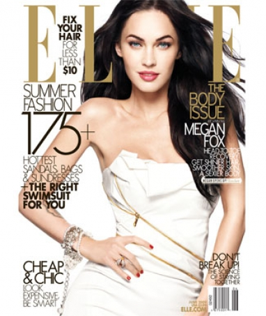 Elle Magazine June Cover: Megan Fox