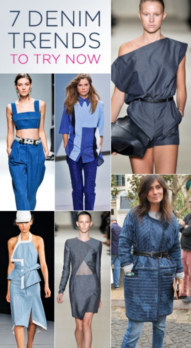 7 Denim Trends to Try Now