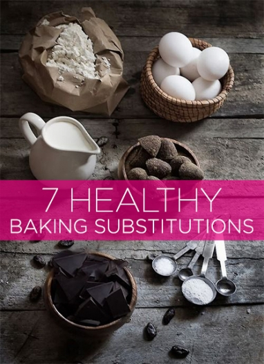 Wellness Wednesday: 7 Healthy Baking Substitutes