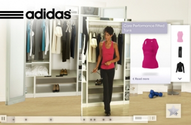 Adidas Launches New Interactive Campaign