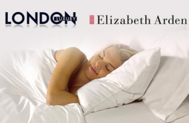 LUX Bedding:  London Luxury Partners with Elizabeth Arden