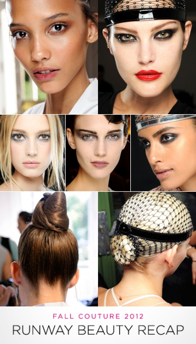 LUX Beauty: Couture Fall 2012 Runway Beauty Trend Recap