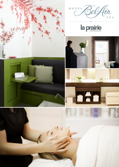 Hotel Bel-Air outfitted with La Prairie spa