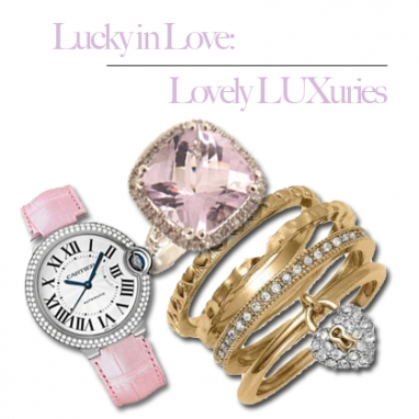 LUX Luxuries for Your Valentine!