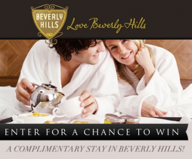 Win a luxury hotel stay for two in Beverly Hills