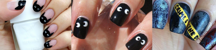 12 Halloween Nail Art Ideas