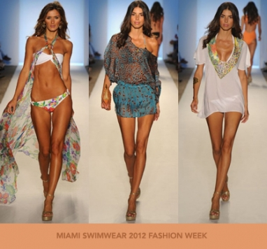 Miami Swim Fashion Week 2012:  Caffé Swimwear
