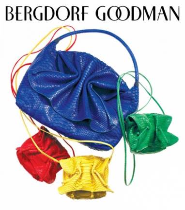 Carlos Falchi's Buffalo bag returns to Bergdorfs