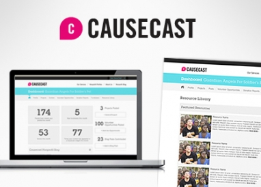 Causecast makes employee giving and volunteering a snap