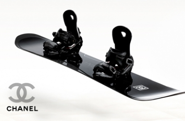 Winter LUX:  Snowboard in Style with Chanel