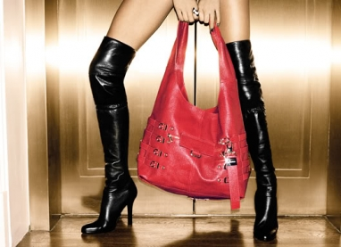 Sexy Jimmy Choo Fall 09/10 Campaign Featuring Angela Lindvall