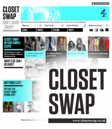 Closet Swap: Don't shop! Swap!