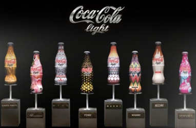 Coca Cola Light Receives a Fashion Makeover for Charity