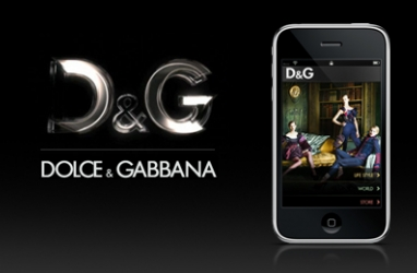 High Fashion Brand Dolce & Gabbana Embraces iPhone with Own App