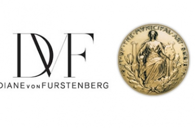 Diane von Furstenberg receives medal for making a difference