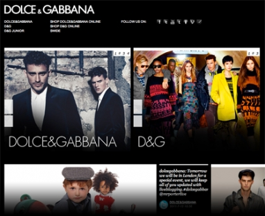 Dolce & Gabbana's big e-commerce plans