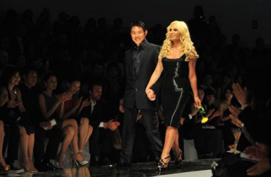 Donatella Versace: Her Thoughts on the NOW of Today's Fashion