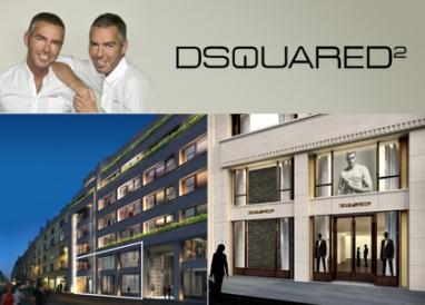Dsquared² squares itself into new stores