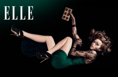 Elle UK September Issue Featuring Dutch Model Sophie Vlaming