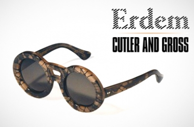 Designer Erdem Partners with Cutler & Gross for New Sunglass Collection