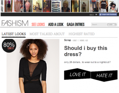 Fashism 2.0: More features for social shopping