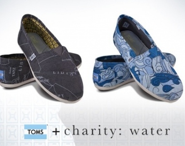Shop for a Cause: Buy Toms and Build a Well