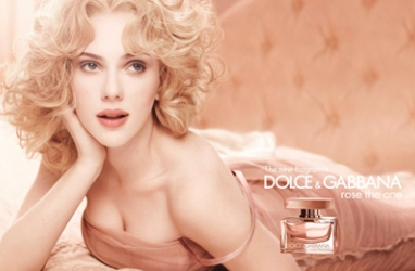 Scarlett Johansson Glows in Dolce Gabbana 'Rose the One' Campaign