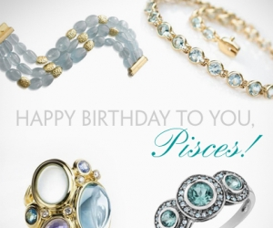 Get LUX in Aqua: Happy Birthday Pisces!