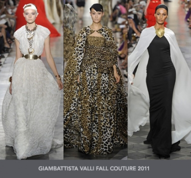 The Strut Report: Giambattista Valli Fall Couture 2011