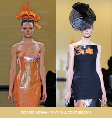 The Strut Report: Giorgio Armani Privé Fall Couture 2011