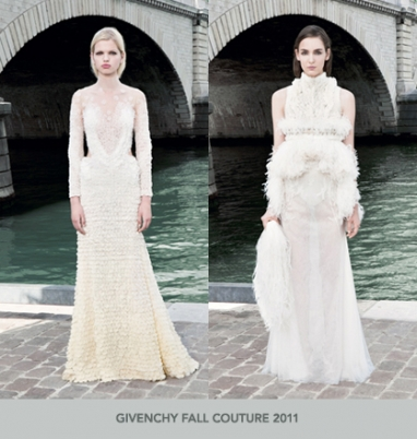 The Strut Report: Givenchy Fall Couture 2011