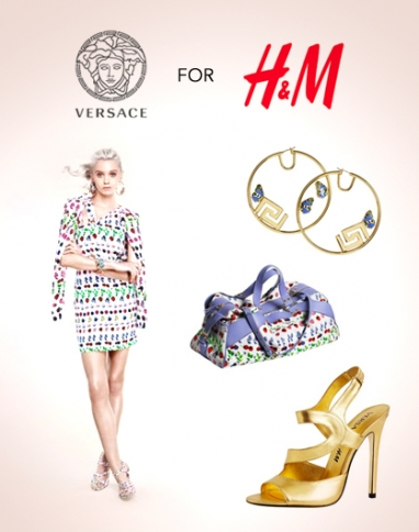 Check out the new Versace for H&M cruise collection