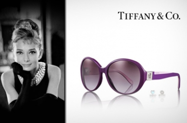 Audrey Hepburn Inspired Glasses Designed by Tiffany & Co.