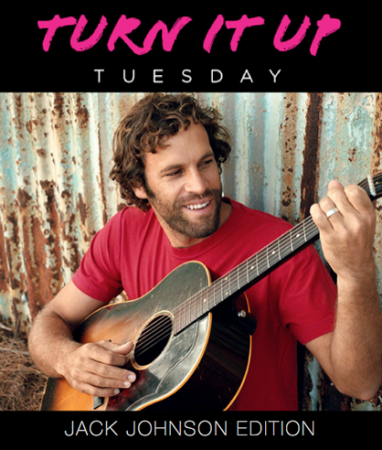 Turn it Up Tuesday: Jack Johnson Edition