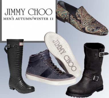 Jimmy Choo debuts new men's shoe line