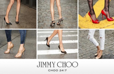 New LUX Line by Jimmy Choo:  24:7 Collection